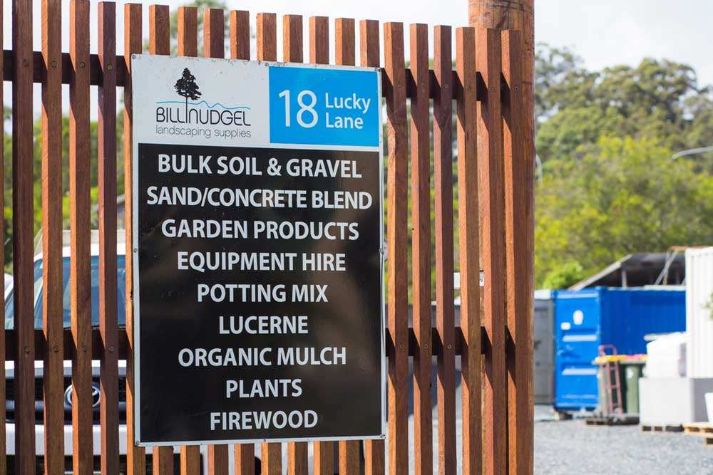 Landscaping supplies billinudgel